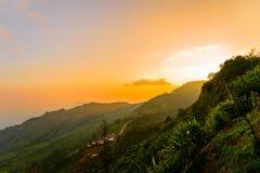 Phu badar berg-khaokhophetchabun Arkivfoto