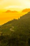 Phu badar berg-khaokhophetchabun Fotografering för Bildbyråer