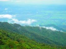 Phu badar berk, Petchabun, Thailand Royaltyfri Bild
