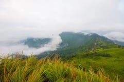Phu Chi Fa mountain, Chiang Rai Thailand. Beautiful landscape mountain, Chiang Rai Thailand Royalty Free Stock Photo