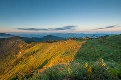 Free Phu Chi Fa Mountain Landscape With Sunrise Royalty Free Stock Photography - 116280117