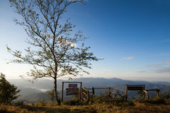 Phu chi phur viewpoint ,Mae Hong Son Northern, Thailand Stock Photo