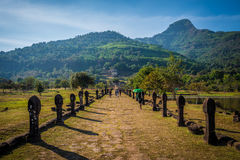 Phu de Wat Photo stock