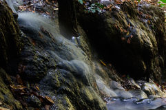 Phu-Kaeng vattenfall i djup skog i Thailand Royaltyfri Foto