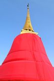 Phu Khao Thong, pagoda, the landmark of Bangkok ,Thailand Stock Photos
