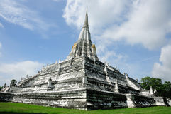 Phu khoa thong Pagoda, Ayutthaya Stock Photography