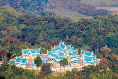 Phu kon forest temple Royalty Free Stock Photography