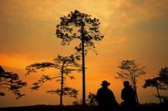 Phu Kradueng nationalpark Arkivfoto
