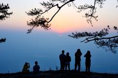 Phu Kradueng nationalpark Arkivbild
