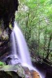 在Phu Kradueng国家公园的Tham亚伊瀑布在Loei,泰国 免版税库存照片