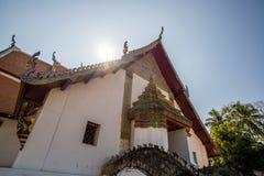 Phu Minimalna świątynia, Biały kościół Zdjęcia Stock