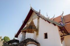 Phu Minimalna świątynia, Biały kościół Zdjęcie Royalty Free