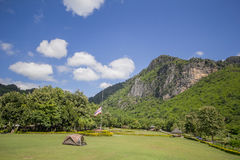 `Phu Pha Man`. Phliw called by the name of one mountain valleys. South Park A steep cliff It looks like a rectangle with a large curtain. Originally used as a Stock Photo