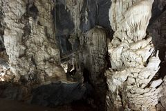 Phu Pha Phet caves Royalty Free Stock Photos