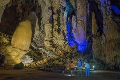 Phu Pha Phet Caves Stock Image