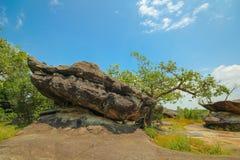 Phu Pha Thoep国家公园, Mukdahan,泰国, 库存照片