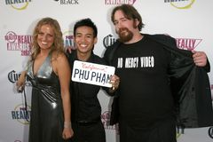 Phu Pham na canaleta da realidade da RAPOSA concede realmente 2007. Boulevard3, Hollywood, CA 10-02-07 Foto de Stock Royalty Free
