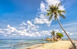Phu Quoc海岛的角落在一个晴天 图库摄影