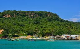 Phu Quoc海岛,越南海景  库存图片