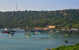 Phu Quoc海岛,越南海景  图库摄影