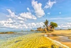 Phu Quoc风景在一个晴天 免版税图库摄影