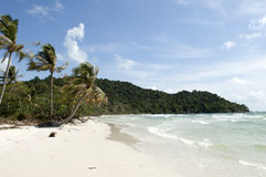 海滩phu quoc圣地越南 免版税库存图片