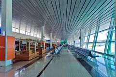 Phu Quoc airport interior Royalty Free Stock Image