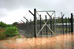 Phu Quoc Prison by the French colonists to jail those considered specially dangerous to the. Phu Quoc,Vietnam  : August  27, 2017   Phu Quoc Prison by the French Stock Photography