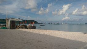 Phu Quoc strand Arkivbild