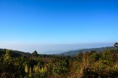 Phu Rua mountain Royalty Free Stock Images
