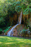 Phu Sang waterfall with water only in Thailand. -36 To 35 degree Stock Photography