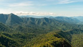 Phu Soi Dao mountain. Phu Soi Dao national park in Uttaraditis povince is a beautiful and popular national park in northward thailand Stock Photography