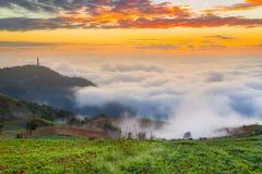 Phu Tab Berk hill, Royalty Free Stock Images