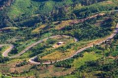 Phu Tabberk, provincia de Phetchabun, Tailandia Imagen de archivo