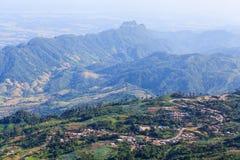 Phu Tabberk, provincia di Phetchabun, Tailandia Fotografie Stock Libere da Diritti
