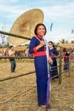 Phu Tai värld av arbete i 6na Royaltyfri Fotografi