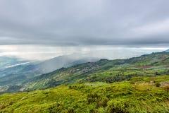 Phu Thap Berk когда оно идет дождь стоковые фотографии rf