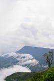 Phu Thap Boek mgły widok Fotografia Stock