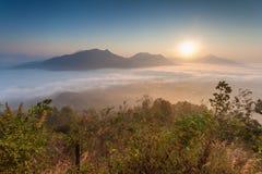 Phu thok chiang khan in loei province thailand Stock Photos