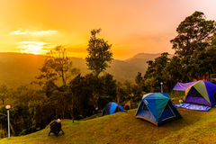 Phu tub berg-khao kho phetchabun Stock Photo