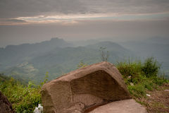 Phu Tub Berg Lom Kao Phetchabun Royalty Free Stock Photography