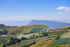 Phu tub berk mountain Stock Images