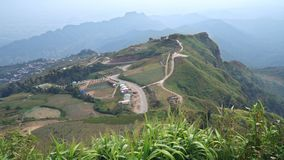 Phu Tubberk is a famous travel location in Phetchabun Province , Thailand stock video footage