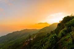 Phu-Wanne Berg-khao kho phetchabun stockfoto