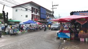Phudoi Market. Rural Market in Urban Fringe of chiangmai.