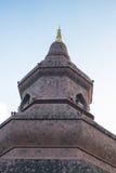 Phukao sandstone pagoda Royalty Free Stock Image