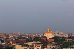 Phukaothong pagoda przy Bangkok, Tajlandia obraz royalty free