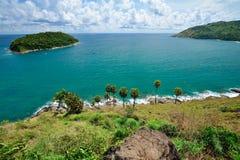 Phuket-Ansichtpunkt Stockfoto