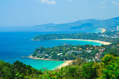 Phuket bay viewpoint Royalty Free Stock Photo