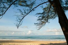 Phuket beach. Southern of Thailand Royalty Free Stock Photo